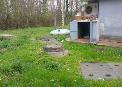 Obra de Instalación de una EDAR en Estación de Servicio en Vilanova de Lourenza (Lugo)