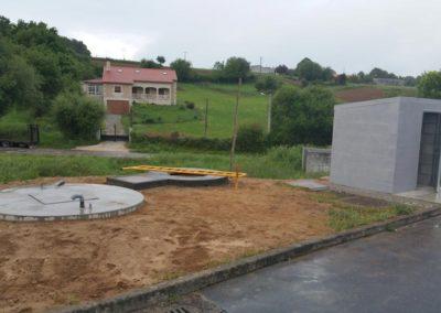 Obra de Instalación de una EDAR en Estación de Servicio en Lalín (Pontevedra)