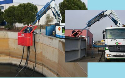 Reparación de mangueras de aireación en Homogenizador