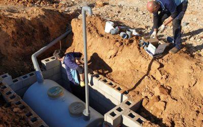 Instalación de fosas biológicas en el sector agrícola